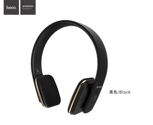 Беспроводные полноразмерные наушники Hoco W9, черный