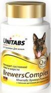 Unitabs BreversComplex с пивными дрожжами для крупных собак (100 табл.)