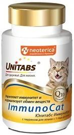 Unitabs ImmunoCat с таурином для кошек от 1 до 8 лет (120 табл.)