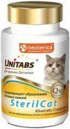 Unitabs SterilCat для кастрированных котов и стерилизованных кошек (120 табл.)