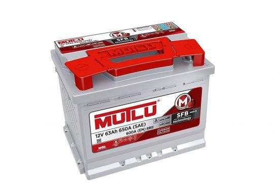 Автомобильный аккумулятор АКБ MUTLU (Мутлу) LB2.63.060.A SMF 56360 63Ач О.П.