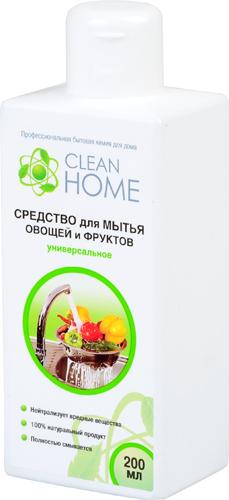 Средство для мытья овощей и фруктов универсальное CLEAN HOME (Клин Хоум) 200 мл