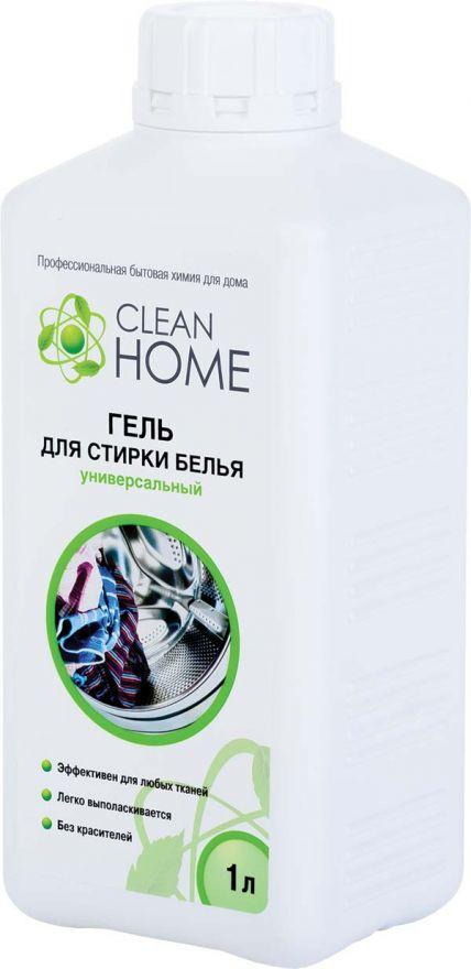 Гель для стирки белья универсальный CLEAN HOME (Клин Хоум) 1000 мл