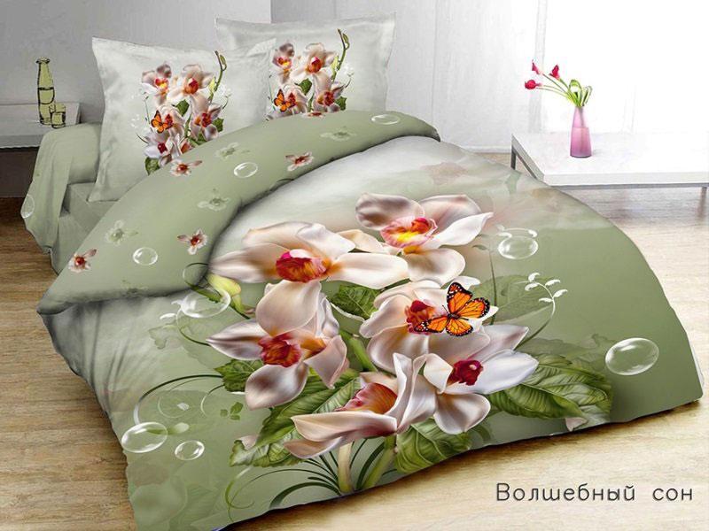 Постельное белье Волшебный сон 3907, сатин (Lorenco)