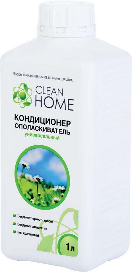 Кондиционер-ополаскиватель для белья с ароматом альпийских лугов CLEAN HOME (Клин Хоум) 1000 мл