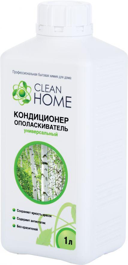 Кондиционер-ополаскиватель для белья с ароматом русского леса CLEAN HOME (Клин Хоум) 1000 мл
