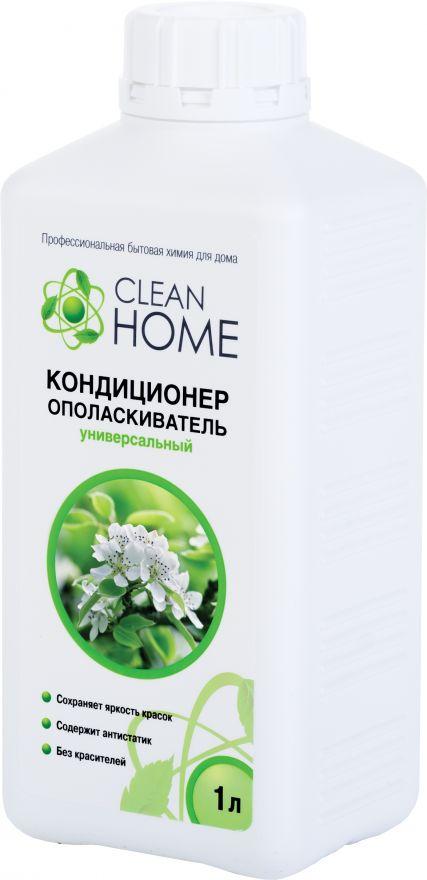 Кондиционер-ополаскиватель для белья с ароматом яблоневых садов CLEAN HOME (Клин Хоум) 1000 мл