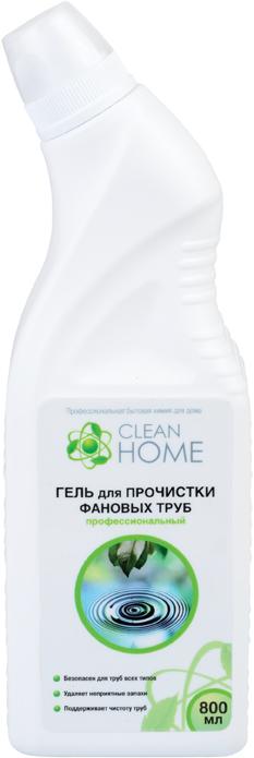 Гель для прочистки фановых труб CLEAN HOME (Клин Хоум) 800 мл