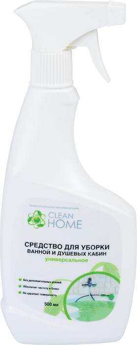 Средство для уборки ванной и душевых кабин CLEAN HOME (Клин Хоум) 500 мл