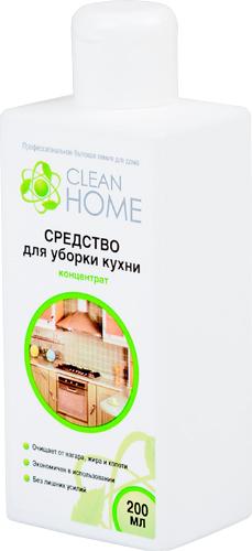 Средство для уборки кухни концентрат CLEAN HOME (Клин Хоум) 200 мл