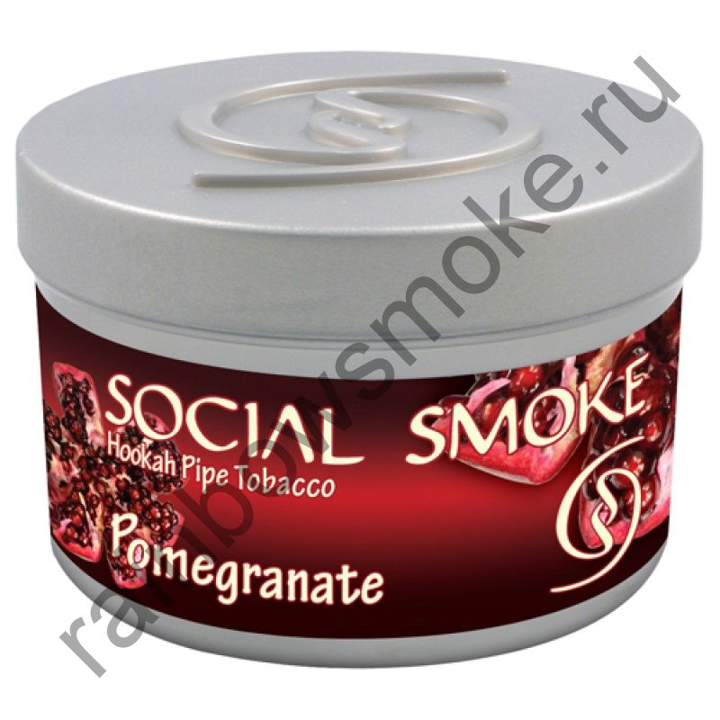 Social Smoke 1 кг - Pomegranate (Гранат)