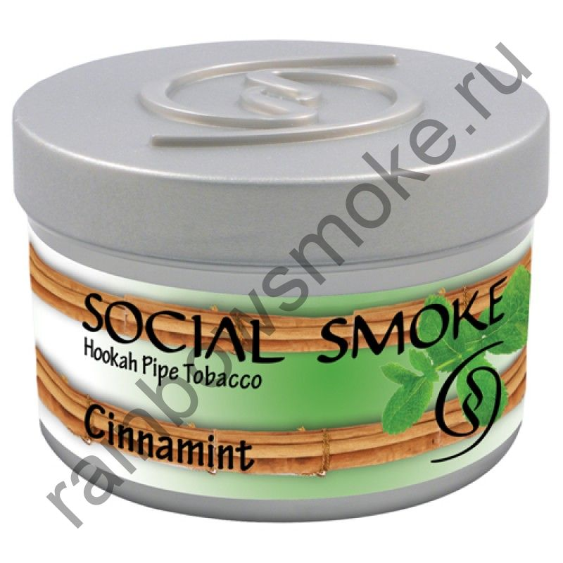 Social Smoke 1 кг - Cinnamint (Корица с Мятой)