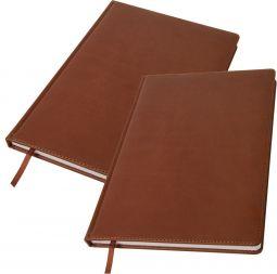 большие коричневые ежедневники А4 Bliss оптом