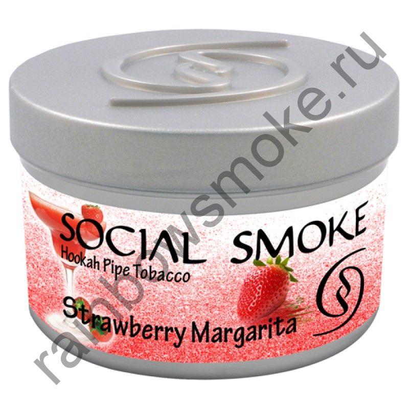 Social Smoke 1 кг - Strawberry Margarita (Клубничная Маргарита)
