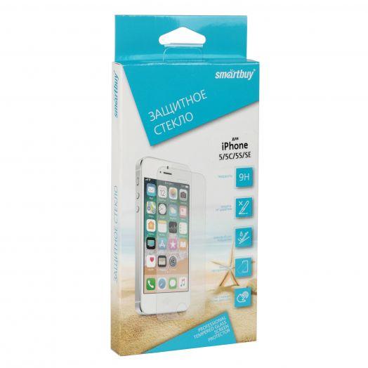 Защитное стекло Smartbuy для iPhone 5/5C/5S/SE