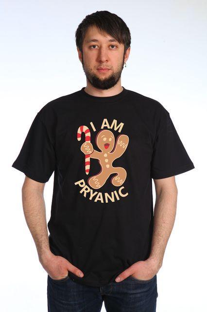 Пряник футболка мужская
