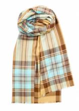 """шотландский тонкорунный легкий широкий палантин (шарф) Альба, 100% шерсть- тонкая нить мулине , расцветка  Королевский клан Стюарт- вариант """"Айлей"""". """"ALBA STEWART  ISLAY """" плотность 2"""