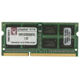 Модуль памяти Kingston PC3-10600 SO-DIMM DDR3 1333MHz  KVR1333D3S8S9/2G