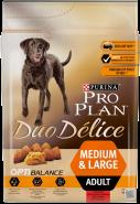 Pro Plan DUO DELICE Для взрослых собак с говядиной (2,5 кг)