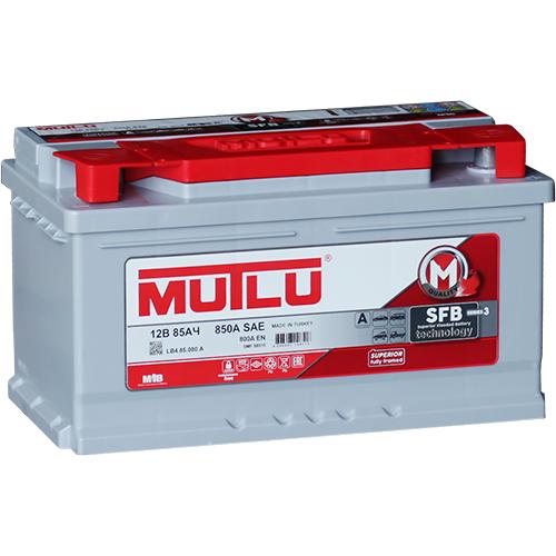 Автомобильный аккумулятор АКБ MUTLU (Мутлу) LB4.85.080.A SMF 58515 85Ач О.П.