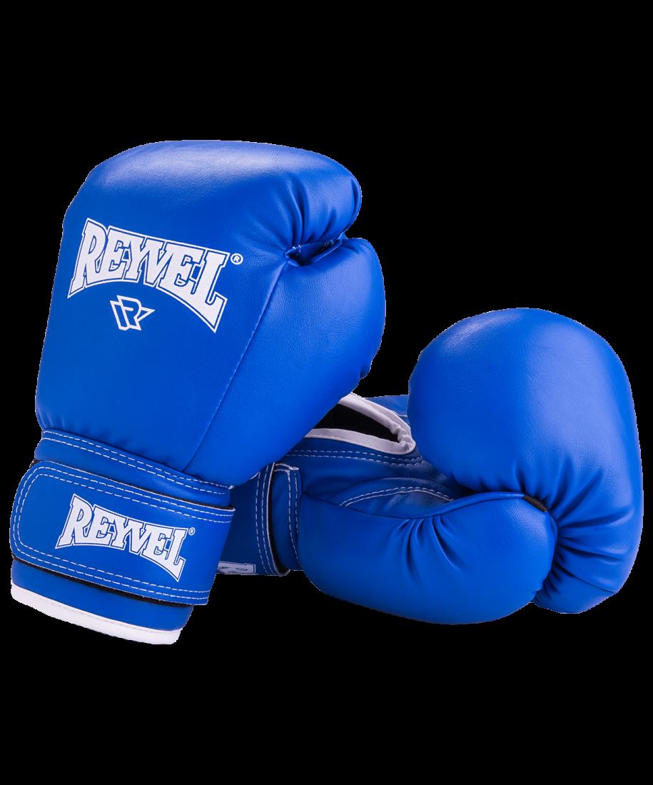 Перчатки боксерские RV-101, 6oz, к/з, синий