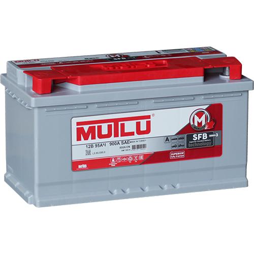Автомобильный аккумулятор АКБ MUTLU (Мутлу)  L5.95.085.B SMF 59519 95Ач П.П.