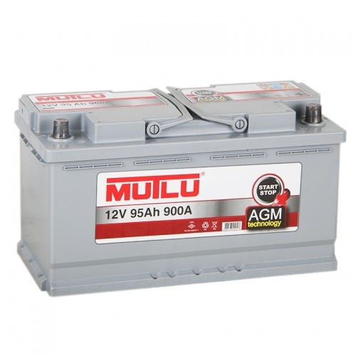 Автомобильный аккумулятор АКБ MUTLU (Мутлу) AGM L5.95.090.A 95Ач О.П.