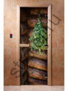 Дверь с фотопечатью, арт.А007, 190х70, 8 мм, 3 петли, коробка ольха.