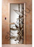 Дверь с фотопечатью, арт.А057, 190х70, 8 мм, 3 петли, коробка ольха.