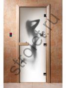 Дверь с фотопечатью, арт.А070, 190х70, 8 мм, 3 петли, коробка ольха.