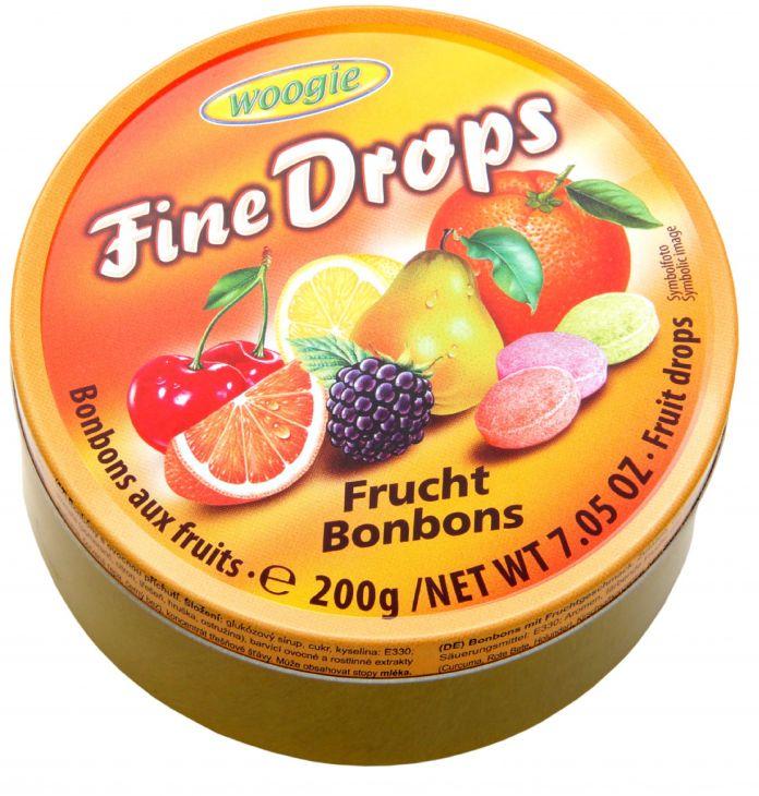 Карамель с тонким фруктовым вкусом разных сортов 200 гр
