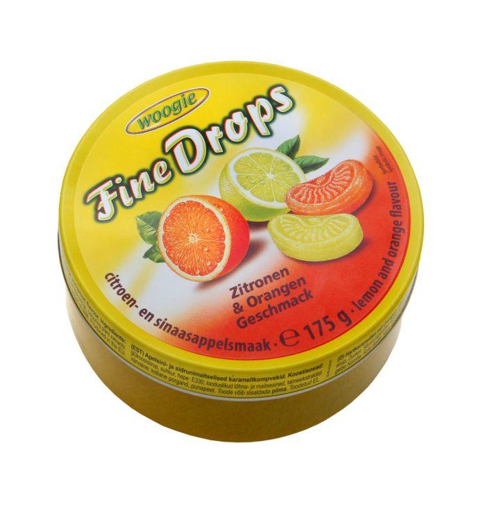 Карамель с лимонно-апельсиновым вкусом 200 гр
