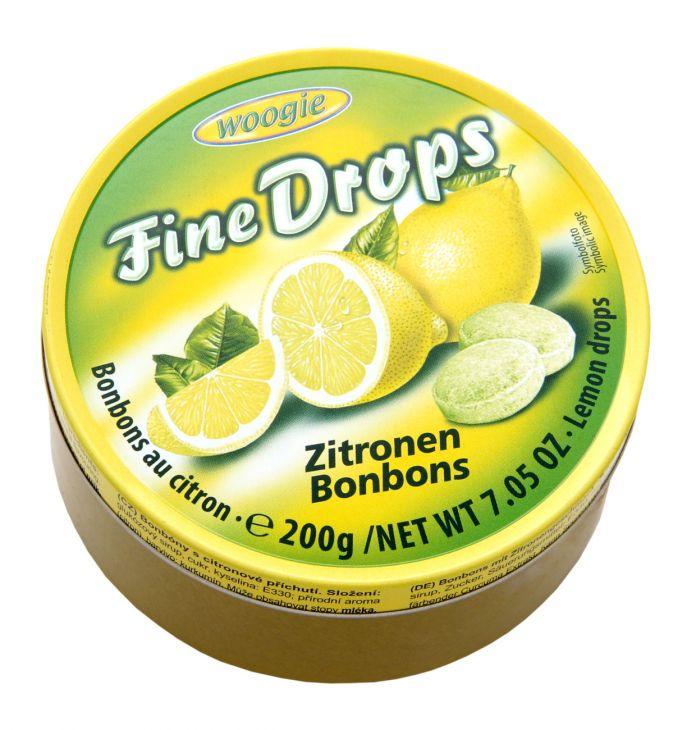 Карамель со вкусом лимона 200 гр