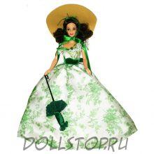 Коллекционная кукла Барби как Скарлетт О'Хара (в Поместье Двенадцать дубов)  - Barbie Doll as Scarlett O'Hara (BBQ Dress)