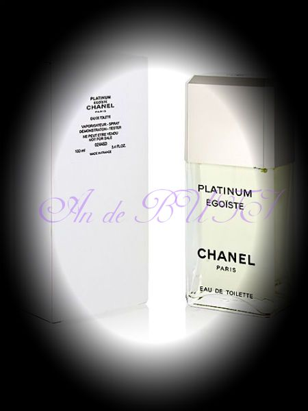 Chanel Egoiste Platinum TESTER 100 мл edt