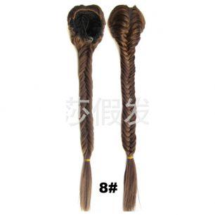 Искусственные термостойкие волосы Коса №008 (50 см) - 130 гр.