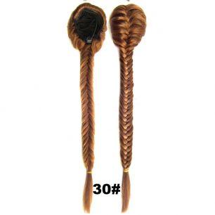 Искусственные термостойкие волосы Коса №030 (50 см) - 130 гр.