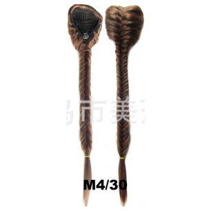 Искусственные термостойкие волосы Коса №M004/30 (50 см) - 130 гр.