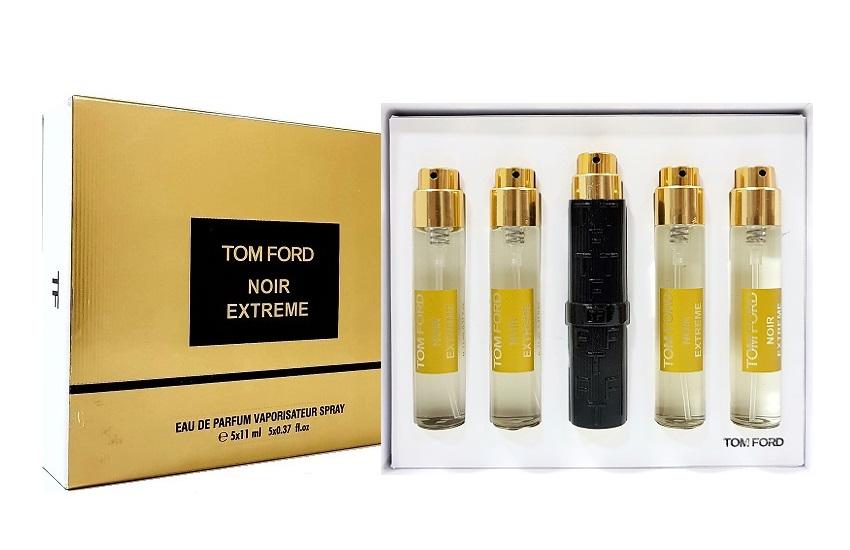 Tom Ford подарочный набор духов Noir Extreme, 5 х 11 ml