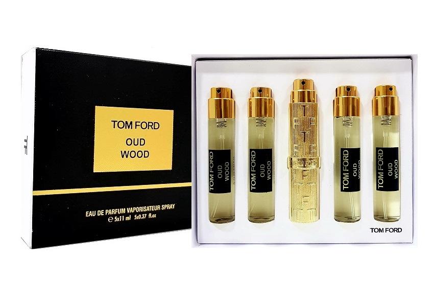 Tom Ford подарочный набор духов Oud Wood, 5 х 11 ml