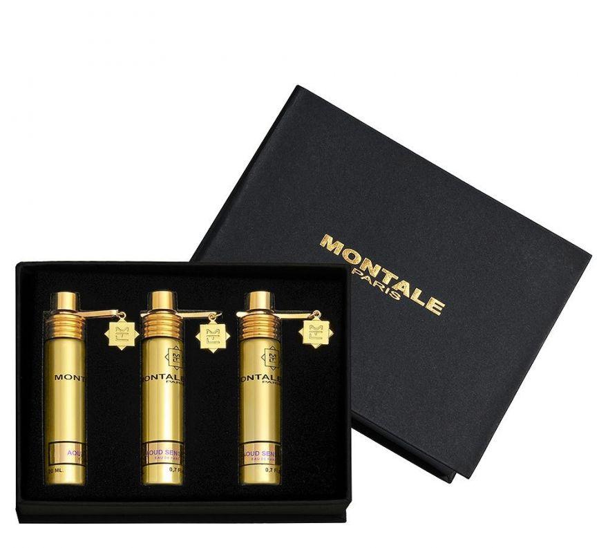 Montale подарочный набор духов Aoud Sense, 3 x 20 ml