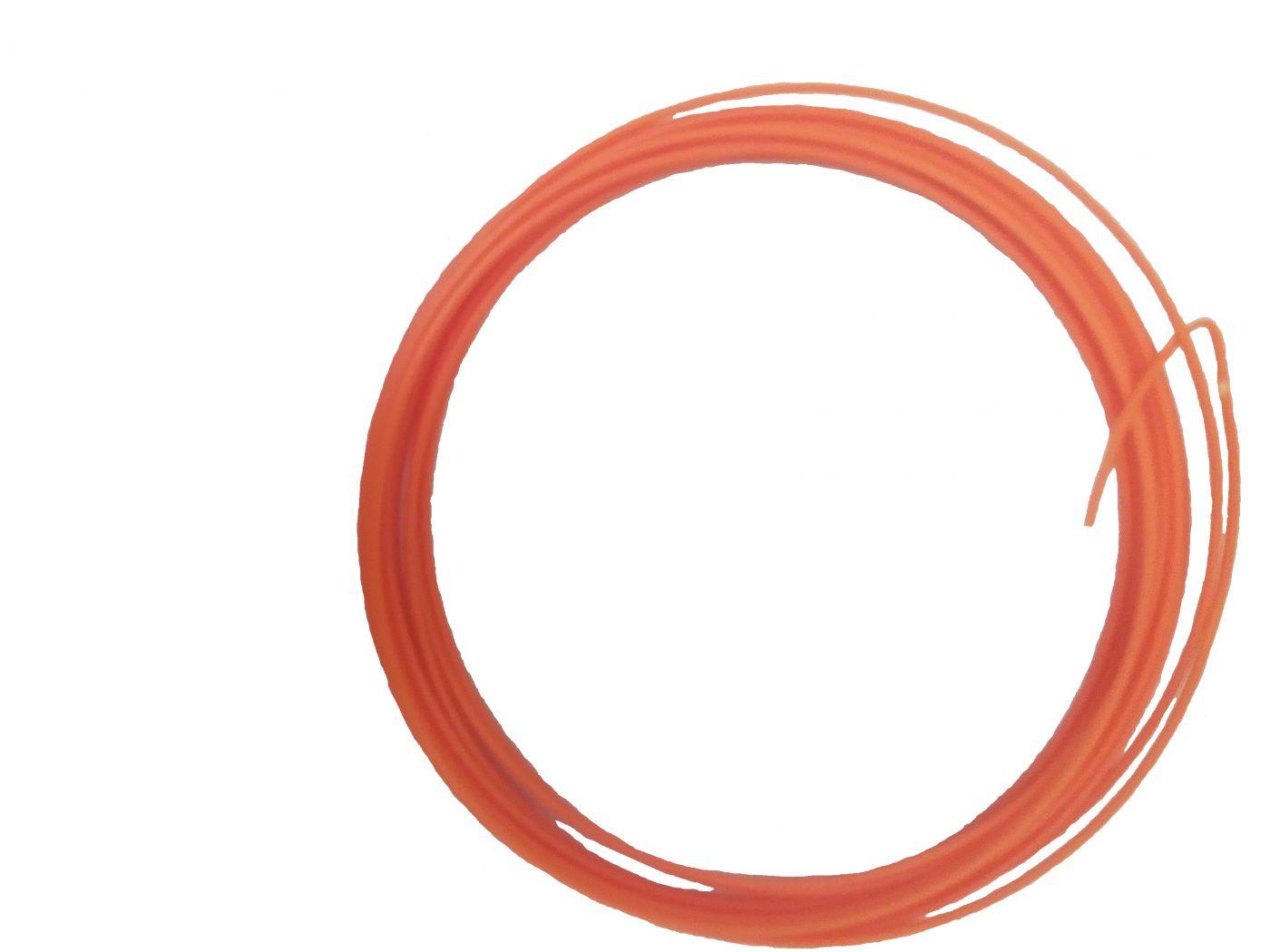 Пластик для 3d ручки ABS оранжевый 5м