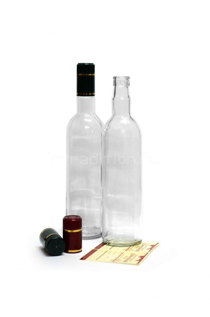 Бутылка под дозатор 0,5 / 20 шт. (колпачок гуала 58 мм)