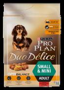 PRO PLAN Duo Delice Говядина с рисом для взрослых собак мелких и карликовых пород (700 г)
