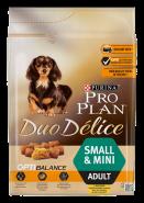 PRO PLAN Duo Delice Курица с рисом для взрослых собак мелких и карликовых пород (700 г)