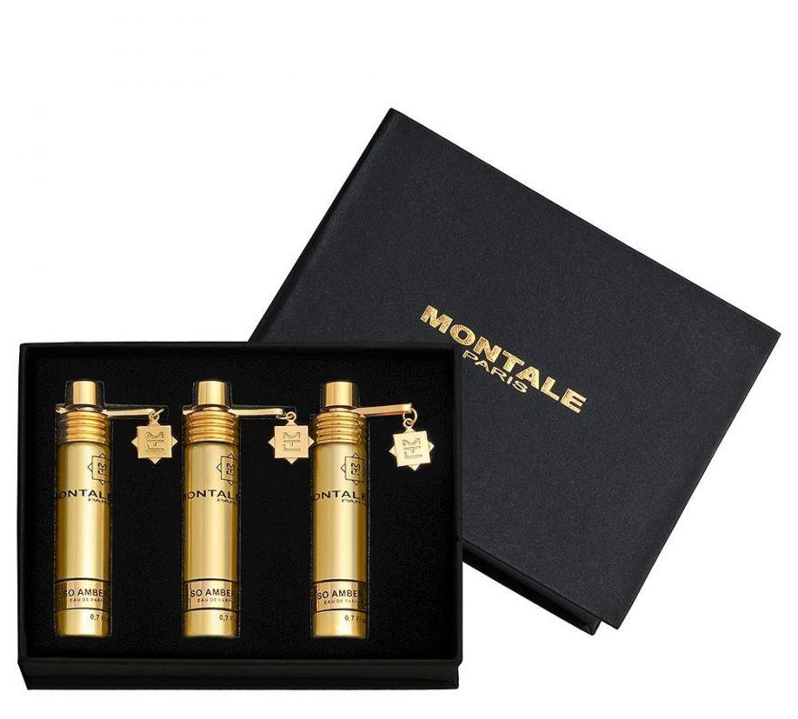Подарочный набор Montale So Amber, 3 x 20 ml
