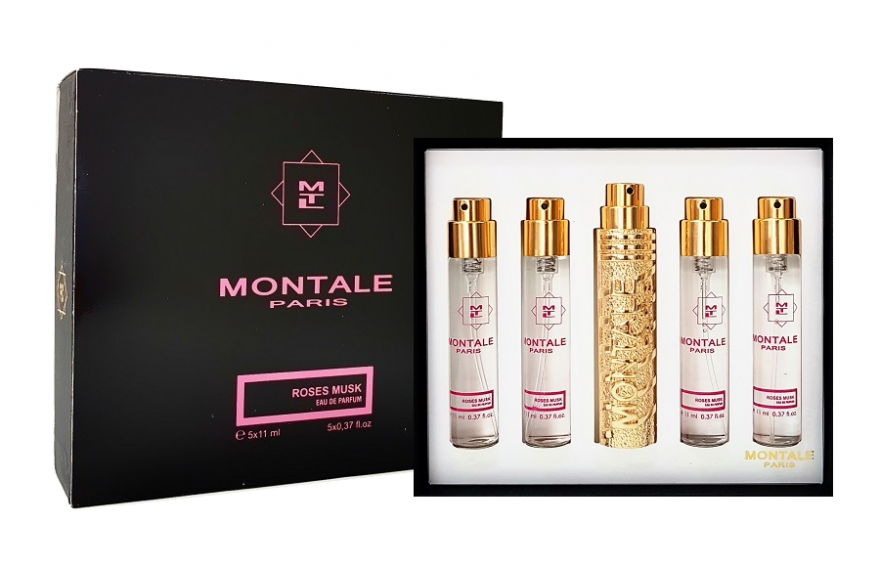 Montale мини-набор духов Roses Musk, 5 х 11ml