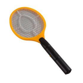 Ракетка-шокер для механического отлова насекомых.