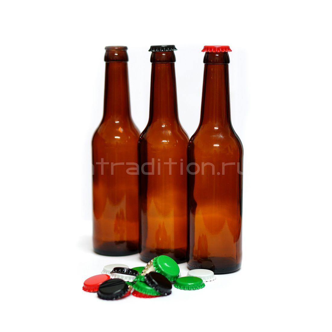 Бутылка под кронен пробку Лаундж (Lounge) 0,33 / 20 шт.