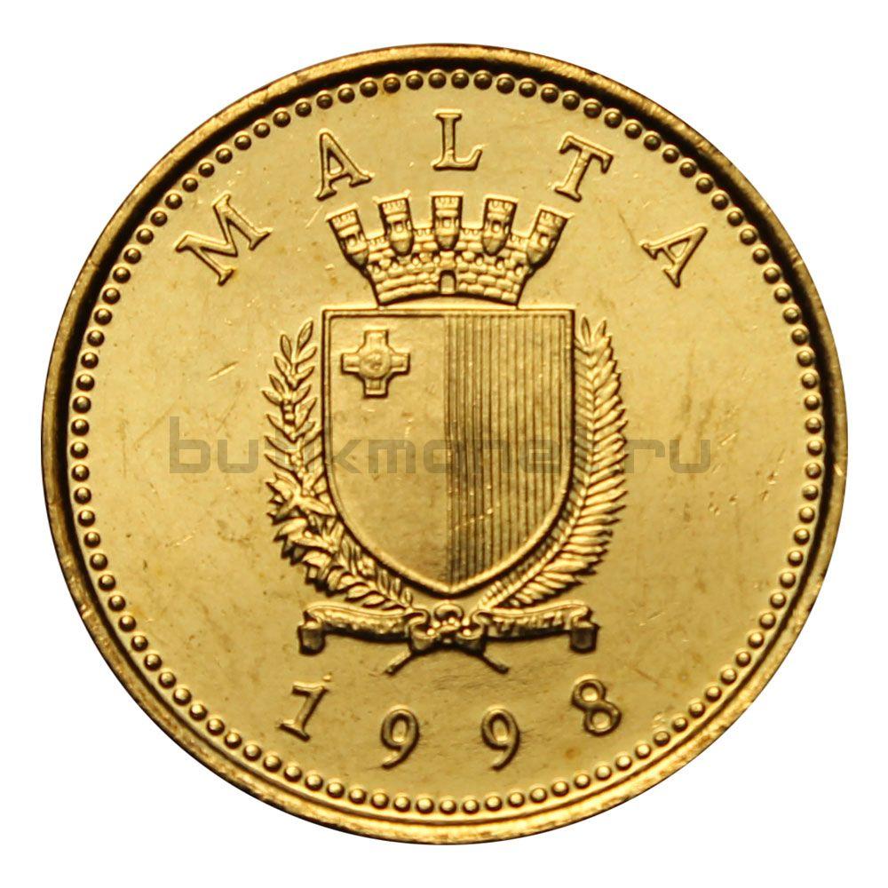 1 цент 1998 Мальта